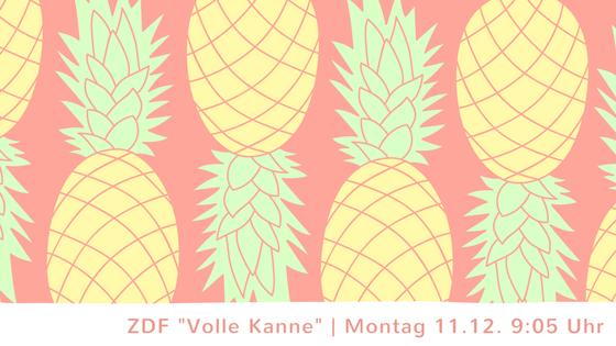 """Dreh für ZDF """"Volle Kanne"""" 1"""
