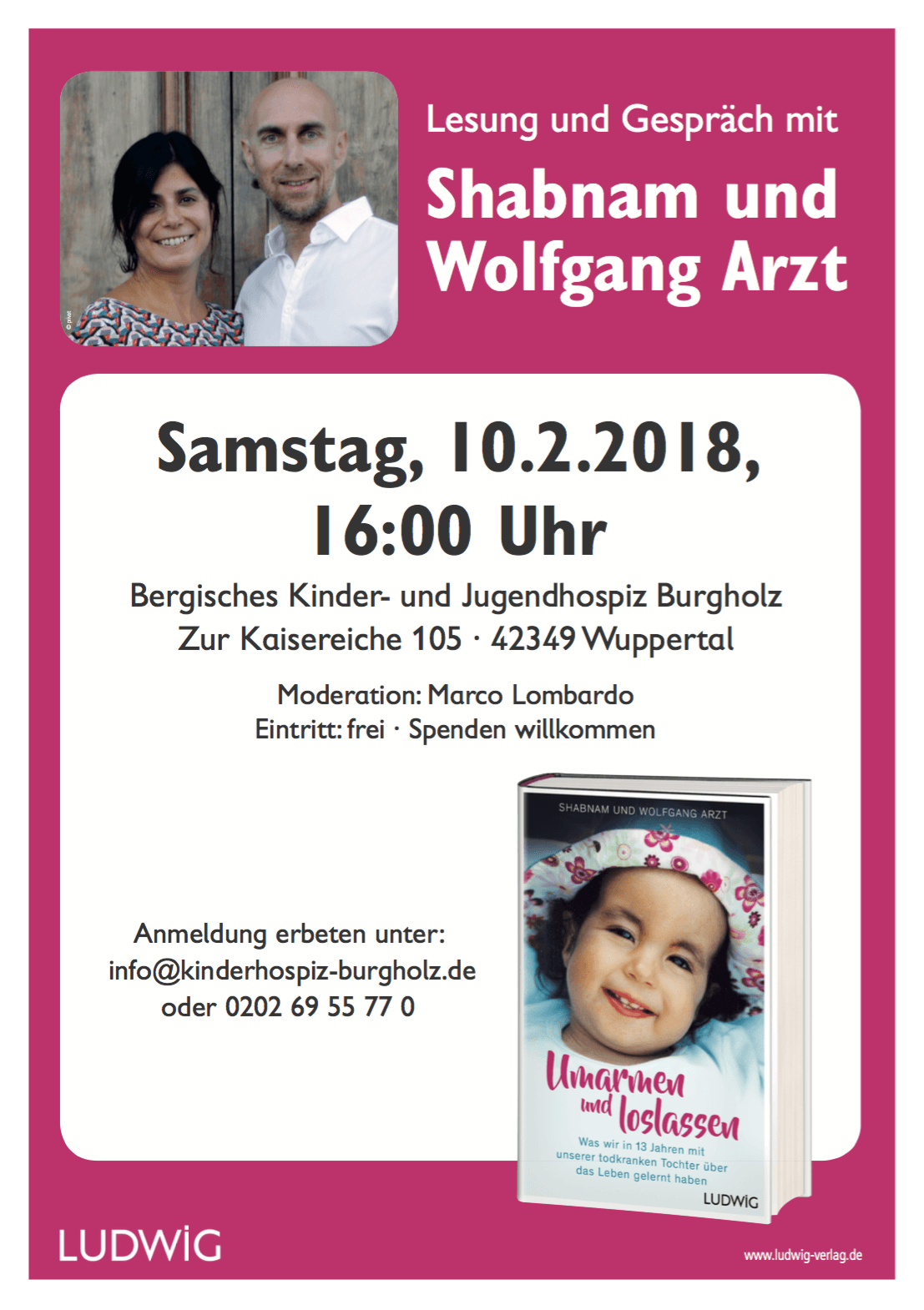 Lesung in Wuppertal 1