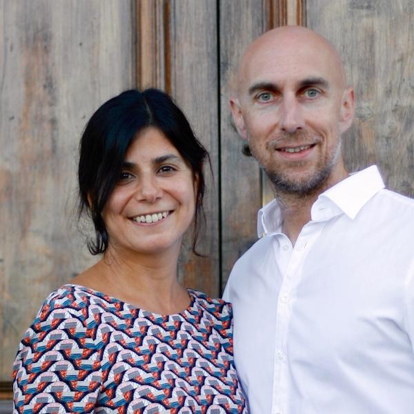 Shabnam und Wolfgang Arzt, Eltern von Jaël, die mit Diagnose Trisomie 18 13 Jahre alt wurde