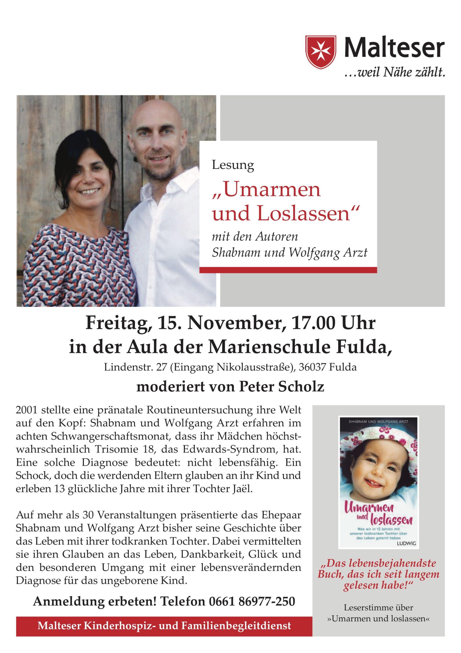 Lesung und Gespräch in Fulda